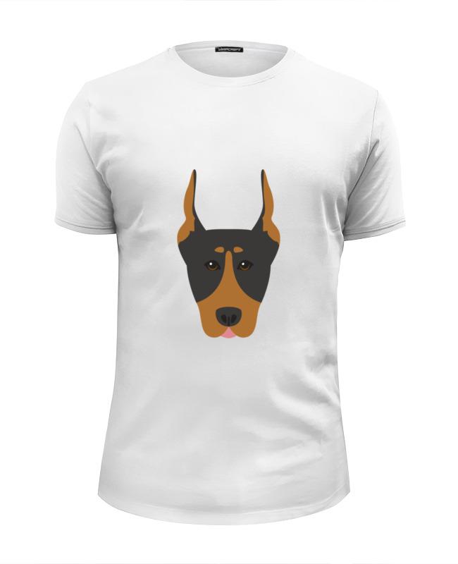 Printio Футболка Wearcraft Premium Slim Fit Собака футболка wearcraft premium slim fit printio собака shar pei