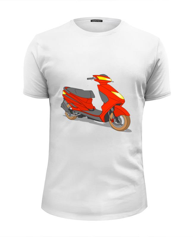 Printio Футболка Wearcraft Premium Slim Fit Мопед