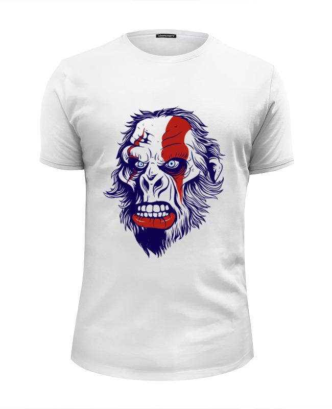 Printio Футболка Wearcraft Premium Slim Fit Gorilla kratos printio футболка классическая gorilla kratos