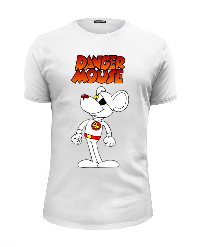 Printio Футболка Wearcraft Premium Slim Fit Danger mouse (опасный мышонок)