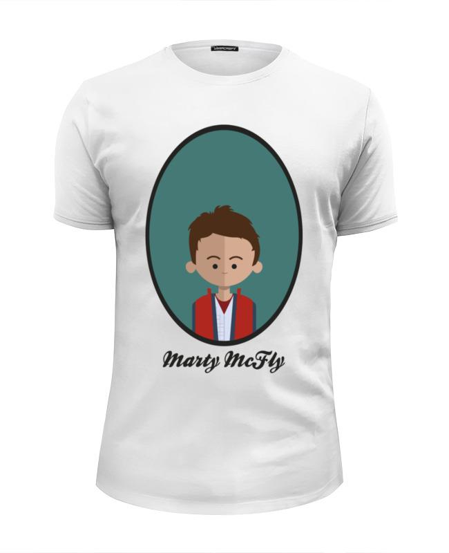 Printio Футболка Wearcraft Premium Slim Fit Марти макфлай (назад в будущее) футболка wearcraft premium slim fit printio майкл джексон