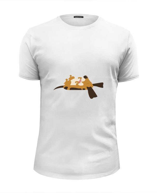Printio Футболка Wearcraft Premium Slim Fit Спящий щенок printio футболка wearcraft premium slim fit спящий медвежонок