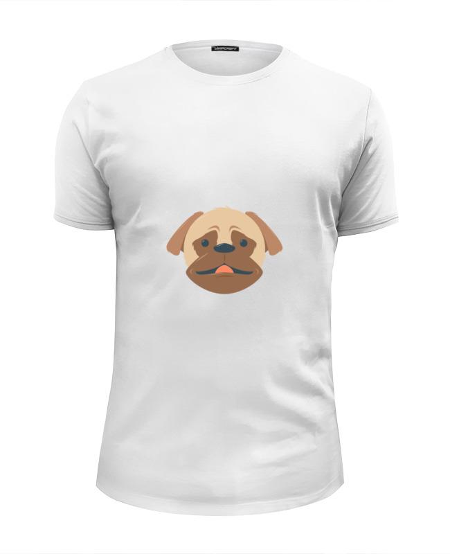 Printio Футболка Wearcraft Premium Slim Fit Мопс. printio футболка wearcraft premium slim fit мопс космонавт
