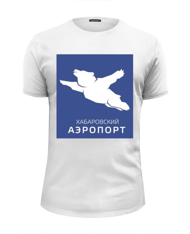 Printio Футболка Wearcraft Premium Slim Fit Хабаровский аэропорт