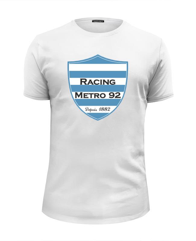 Printio Футболка Wearcraft Premium Slim Fit Racing métro 92 rugby printio футболка wearcraft premium rugby world cup 2019