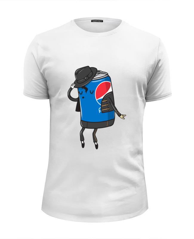 Printio Футболка Wearcraft Premium Slim Fit Пепси джексон