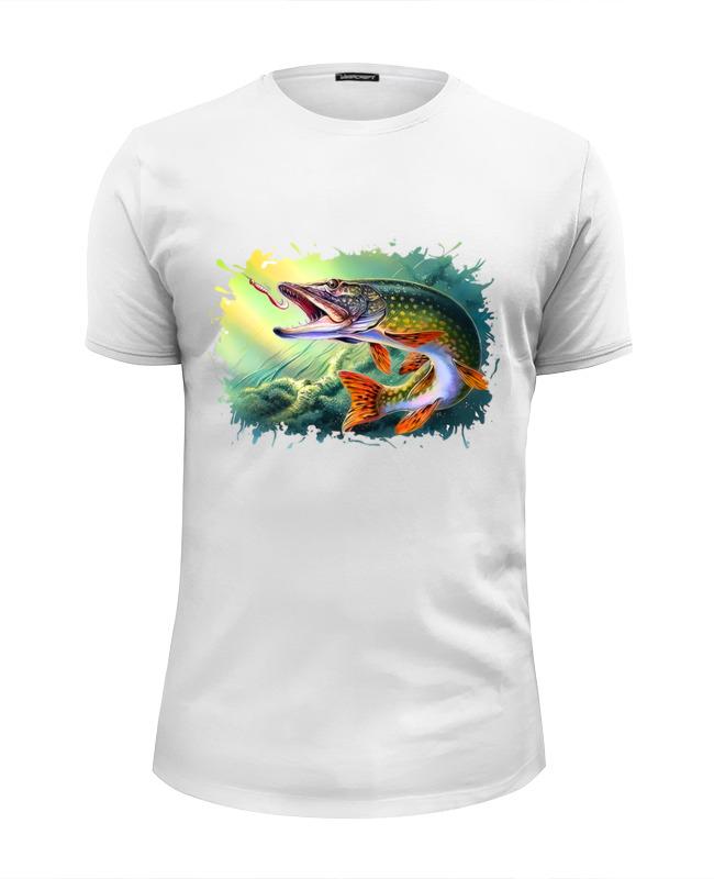 Printio Футболка Wearcraft Premium Slim Fit Большая рыбка
