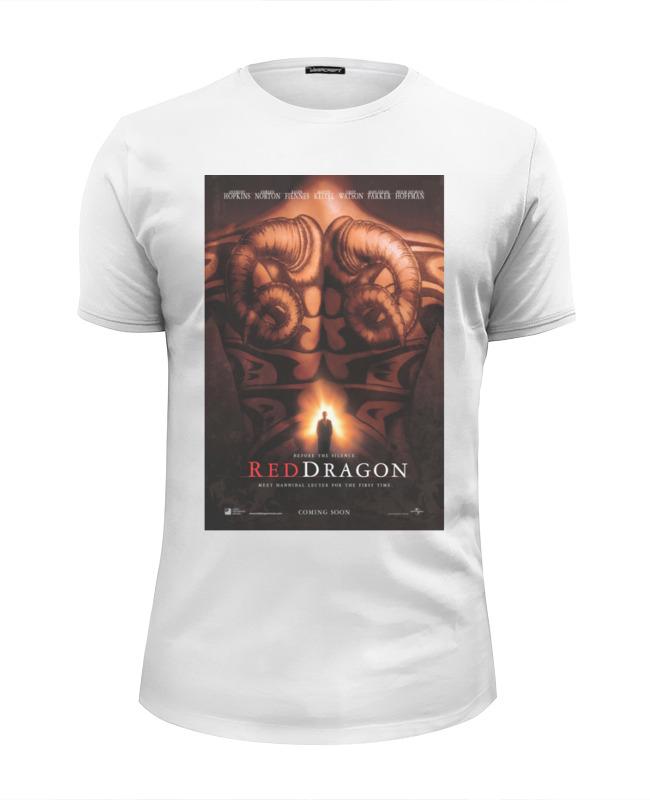 Printio Футболка Wearcraft Premium Slim Fit Red-dragon / красный дракон