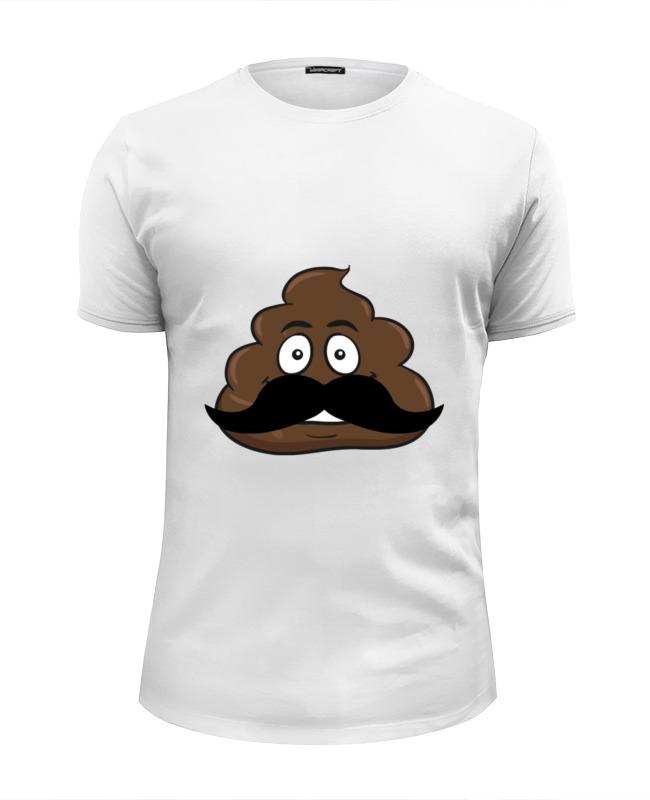 Printio Футболка Wearcraft Premium Slim Fit Smiling poop футболка wearcraft premium printio the smiling