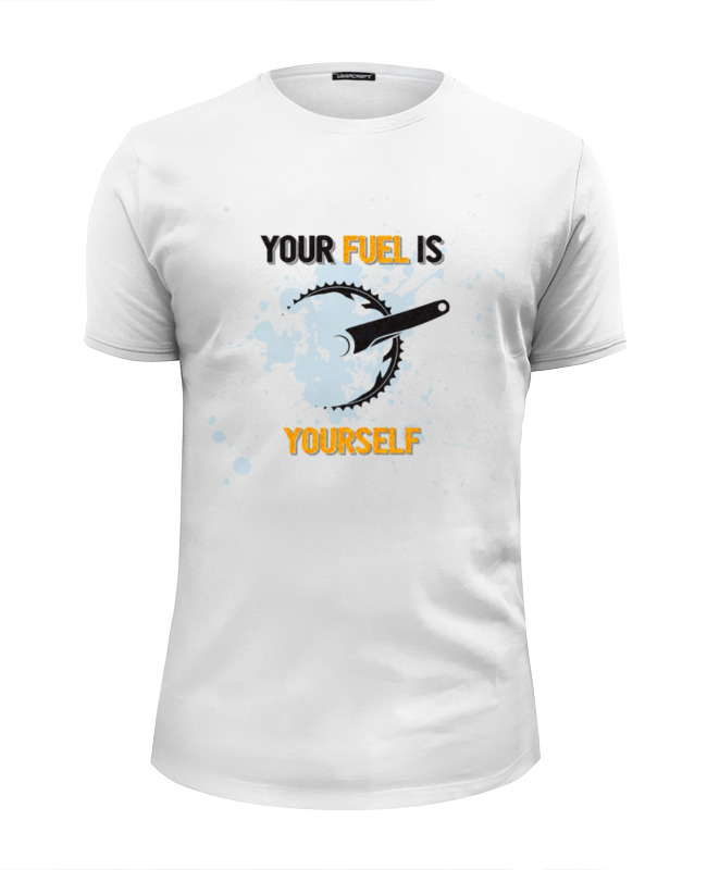 Фото - Printio Футболка Wearcraft Premium Slim Fit Your fuel printio футболка wearcraft premium slim fit ✱rule your mind✱