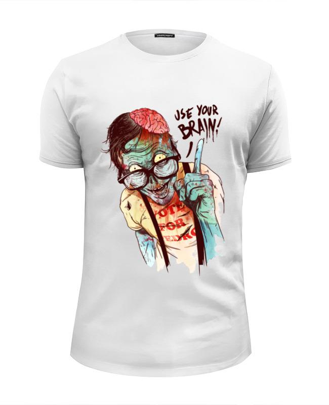 Фото - Printio Футболка Wearcraft Premium Slim Fit Use your brain printio футболка wearcraft premium slim fit ✱rule your mind✱