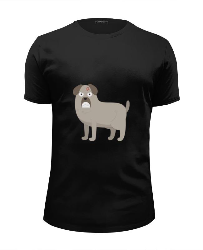Printio Футболка Wearcraft Premium Slim Fit Злой пёс printio футболка wearcraft premium slim fit влюблённый пёс