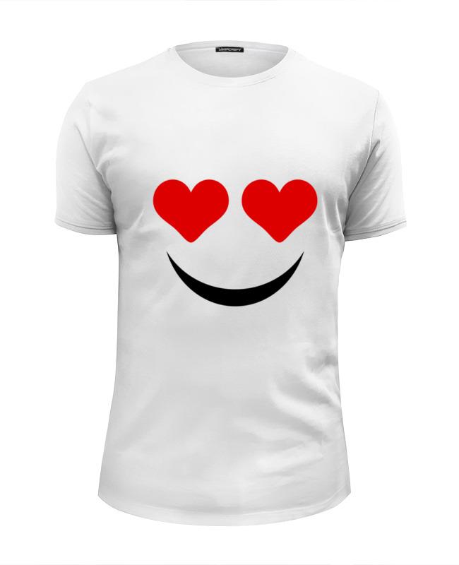 футболка wearcraft premium slim fit printio ronnie james dio Printio Футболка Wearcraft Premium Slim Fit Футболка улыбка