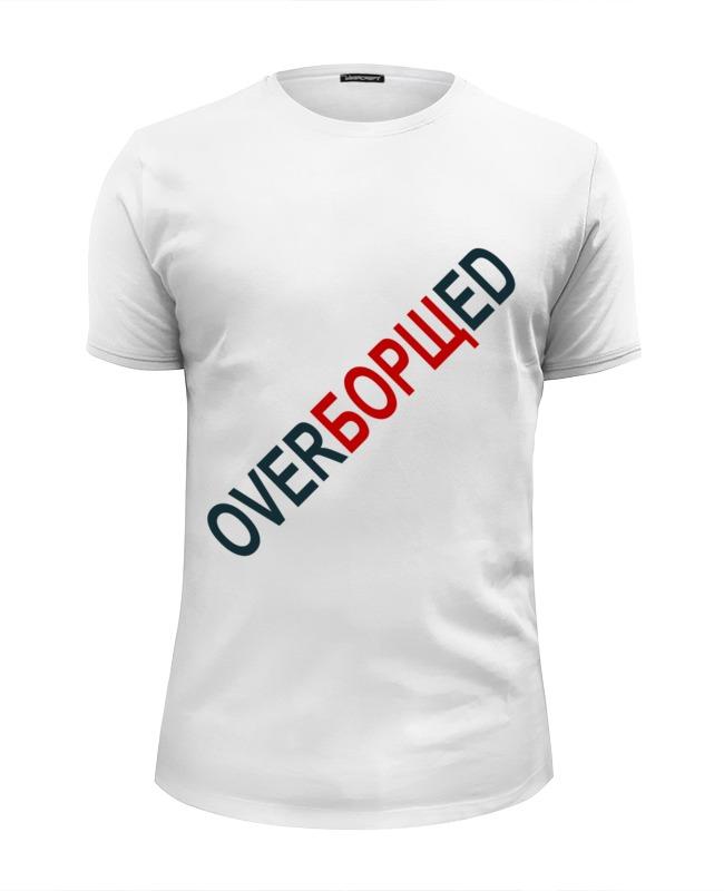 футболка wearcraft premium slim fit printio ronnie james dio Printio Футболка Wearcraft Premium Slim Fit Overборщed dio