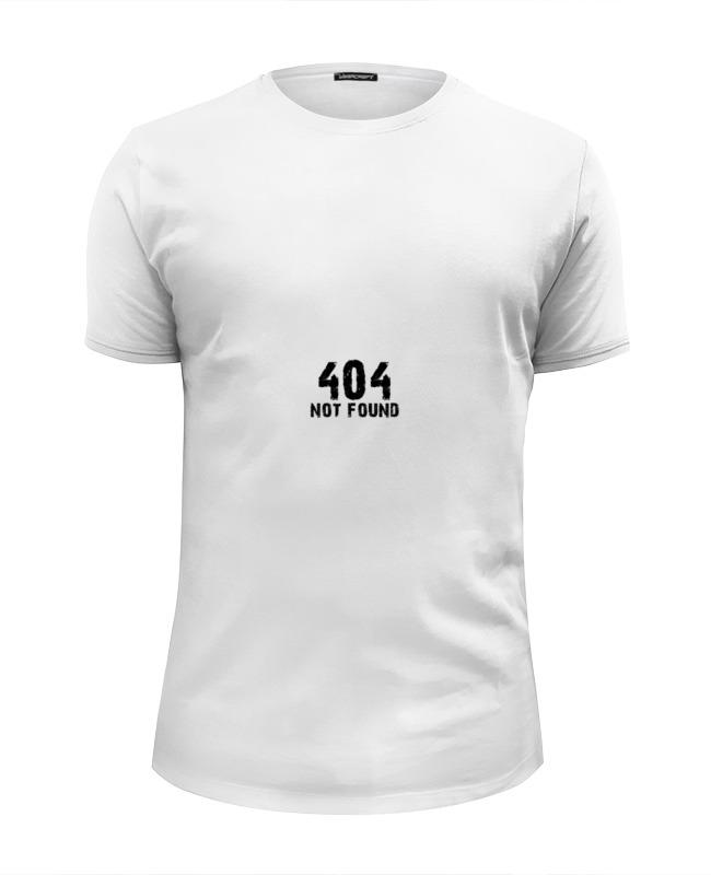 Printio Футболка Wearcraft Premium Slim Fit 404 error футболка wearcraft premium printio 404 not found
