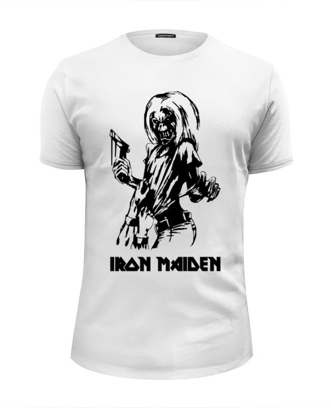 Printio Футболка Wearcraft Premium Slim Fit Iron maiden printio футболка wearcraft premium slim fit в начале было слово