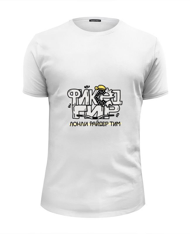 printio футболка wearcraft premium slim fit фиксед гир светлая Printio Футболка Wearcraft Premium Slim Fit Фиксед гир (светлая)