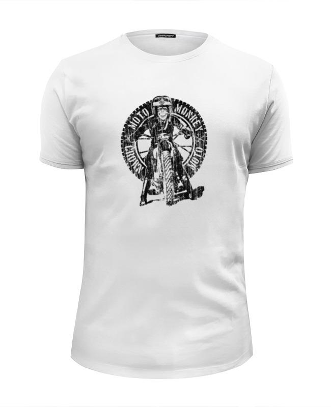 Printio Футболка Wearcraft Premium Slim Fit Moto monkey printio футболка wearcraft premium slim fit moto retro cafe