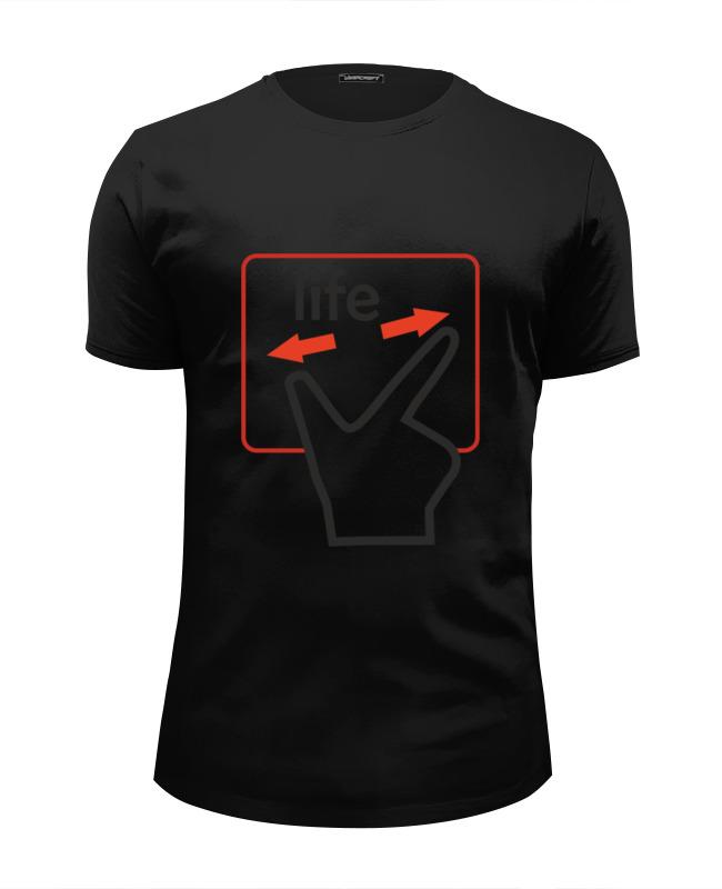 Фото - Printio Футболка Wearcraft Premium Slim Fit Touchpad of your life printio футболка wearcraft premium slim fit ✱rule your mind✱