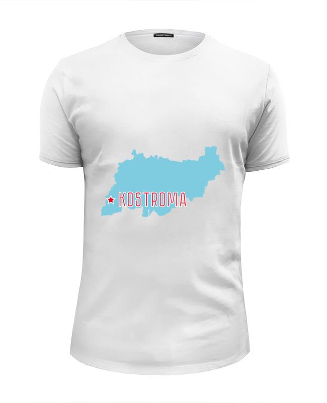 Printio Футболка Wearcraft Premium Slim Fit Костромская область. кострома