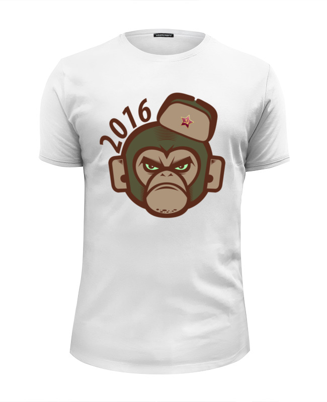 printio футболка wearcraft premium slim fit обезьяна символ нового 2016 года Printio Футболка Wearcraft Premium Slim Fit Обезьяна - символ нового 2016 года.