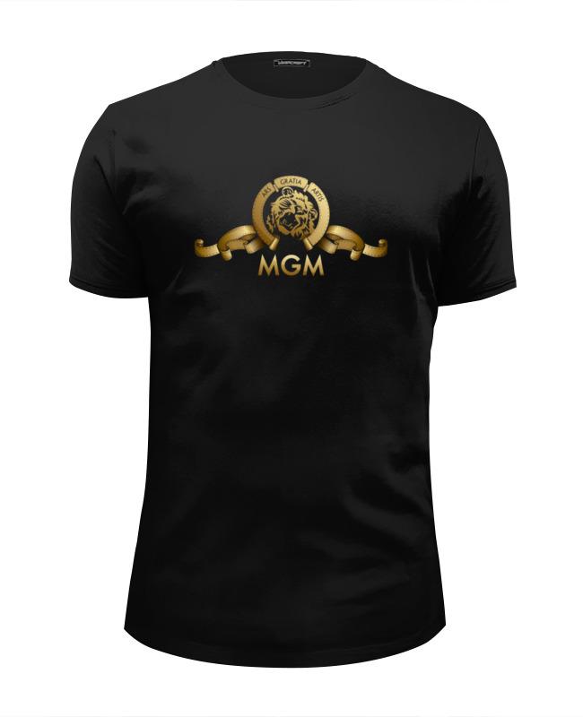 Printio Футболка Wearcraft Premium Slim Fit Metro-goldwyn-mayer / mgm