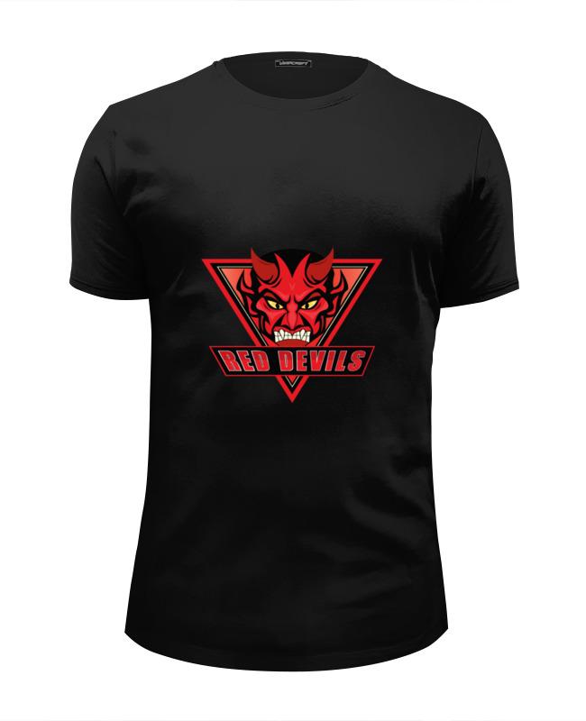 Printio Футболка Wearcraft Premium Slim Fit Red devils