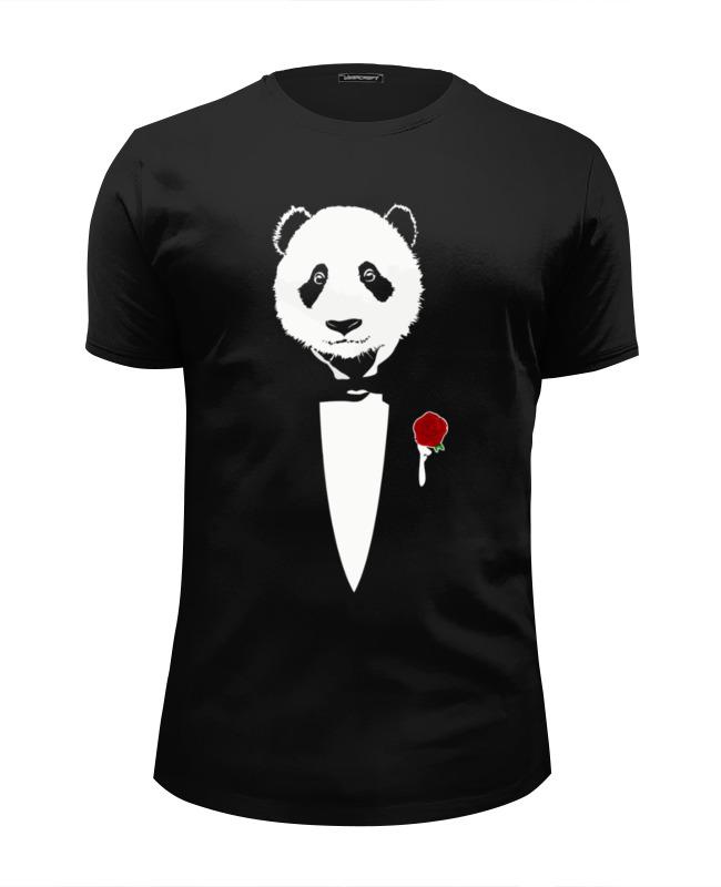 Printio Футболка Wearcraft Premium Slim Fit Panda godfather printio футболка wearcraft premium panda godfather