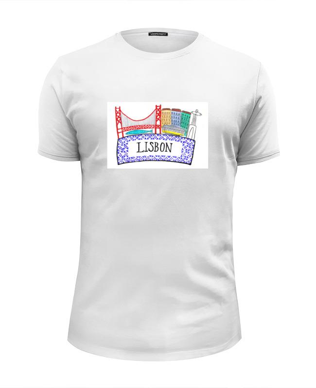 lisbon Printio Футболка Wearcraft Premium Slim Fit Lisbon