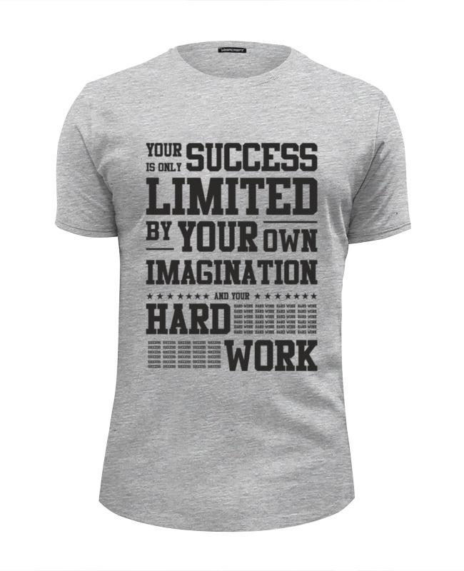 Фото - Printio Футболка Wearcraft Premium Slim Fit Your success printio футболка wearcraft premium slim fit ✱rule your mind✱