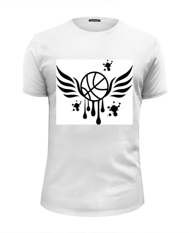Printio Футболка Wearcraft Premium Slim Fit Баскетбольный мяч