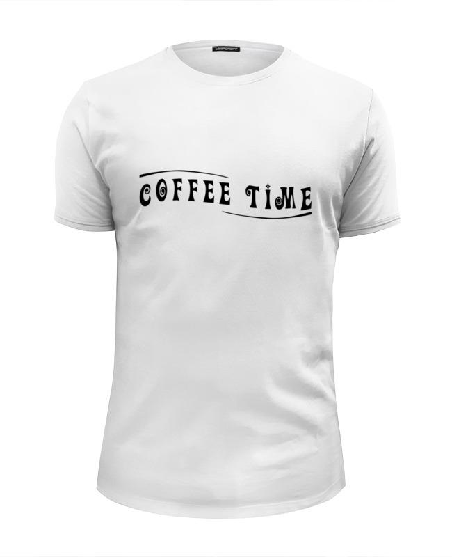 Printio Футболка Wearcraft Premium Slim Fit Coffee time printio футболка wearcraft premium tiki time