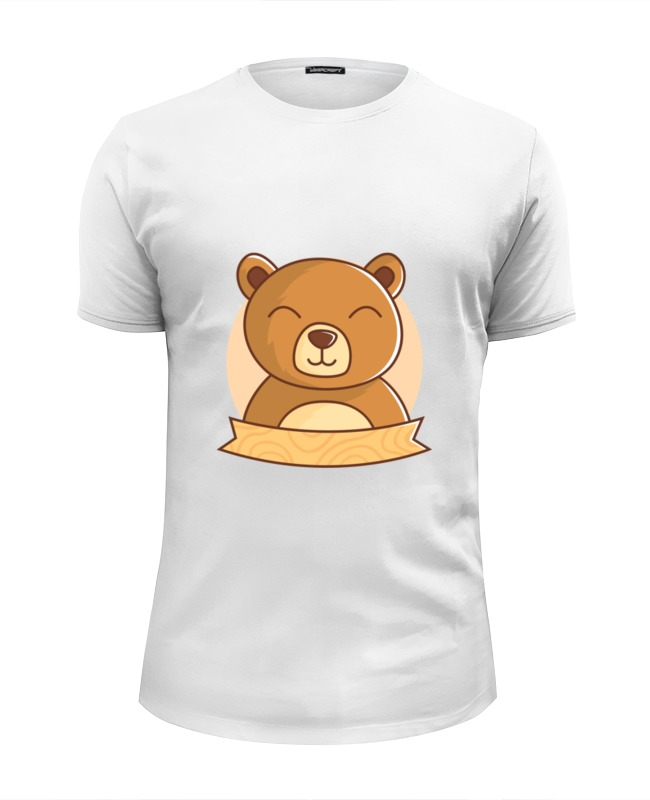 Printio Футболка Wearcraft Premium Slim Fit Спящий медвежонок printio футболка wearcraft premium slim fit спящий медвежонок