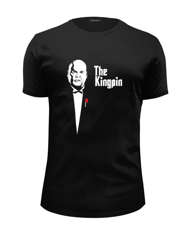 Printio Футболка Wearcraft Premium Slim Fit Kingpin x godfather printio футболка wearcraft premium panda godfather