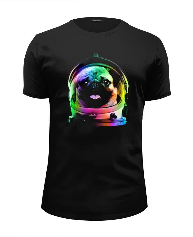 Printio Футболка Wearcraft Premium Slim Fit Мопс космонавт printio футболка wearcraft premium slim fit мопс космонавт