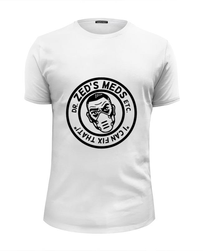 printio футболка wearcraft premium slim fit чумной доктор Printio Футболка Wearcraft Premium Slim Fit Доктор зед бланко