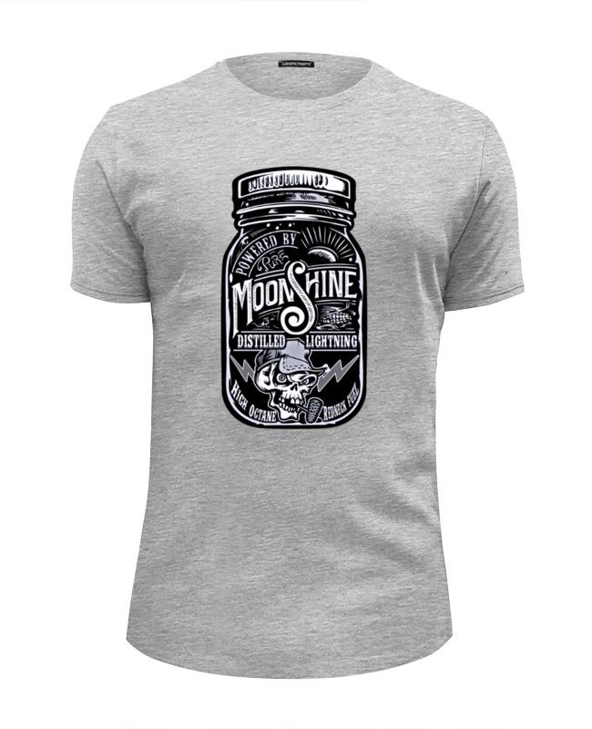 david w maurer kentucky moonshine Printio Футболка Wearcraft Premium Slim Fit Moonshine