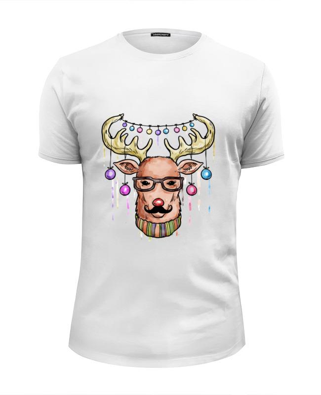 Фото - Printio Футболка Wearcraft Premium Slim Fit Christmas deer printio футболка wearcraft premium slim fit christmas deer