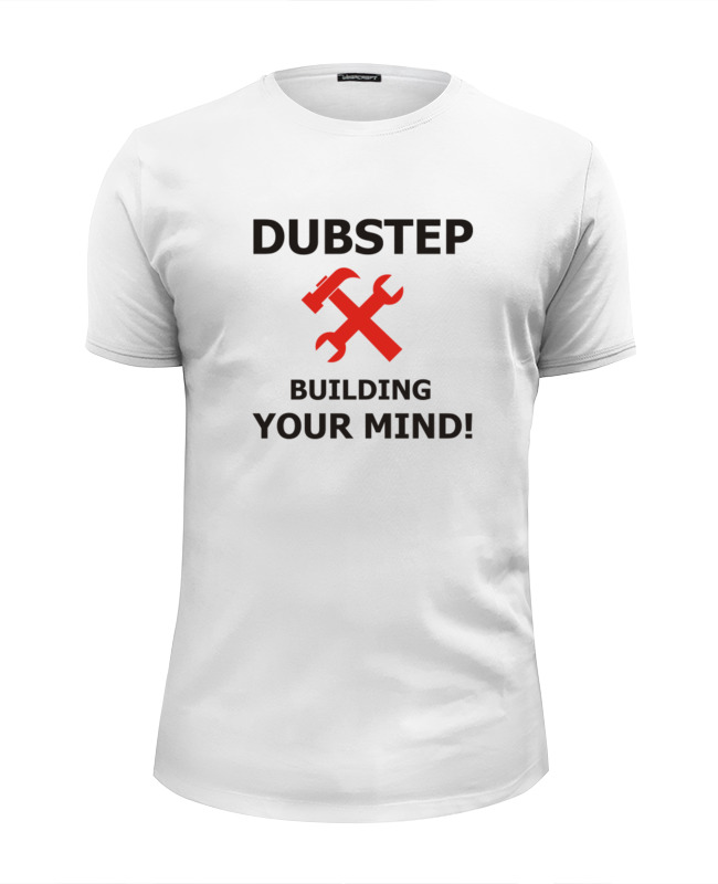 Фото - Printio Футболка Wearcraft Premium Slim Fit Dubstep building your mind printio футболка wearcraft premium slim fit ✱rule your mind✱