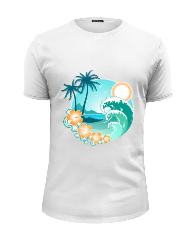 футболка классическая printio ямайка Printio Футболка Wearcraft Premium Slim Fit Ямайка