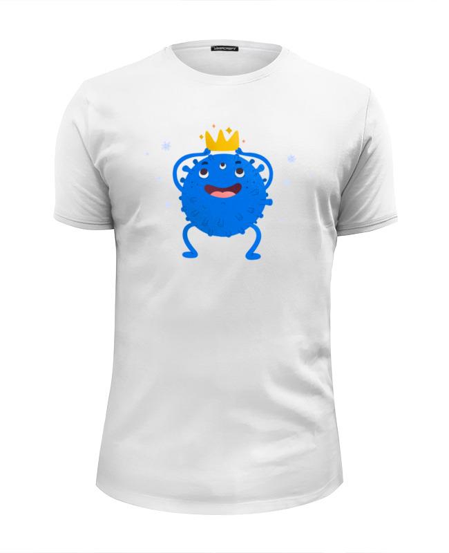 Фото - Printio Футболка Wearcraft Premium Slim Fit Вирус printio футболка wearcraft premium slim fit ты мой вирус