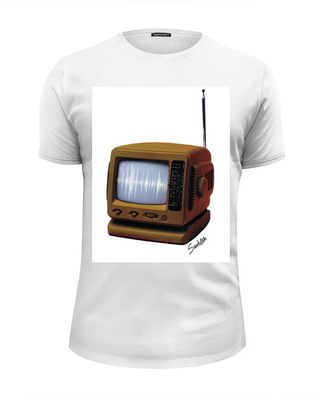 Printio Футболка Wearcraft Premium Slim Fit Retro tv printio футболка wearcraft premium slim fit moto retro cafe