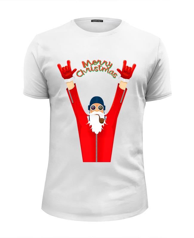 Printio Футболка Wearcraft Premium Slim Fit Bad santa