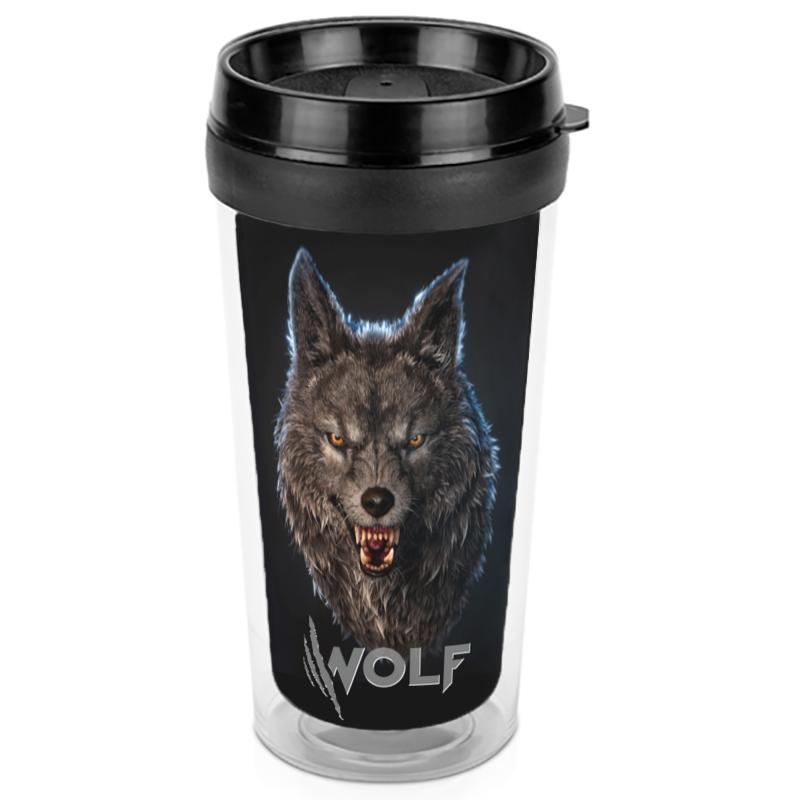 Printio Термокружка Волки