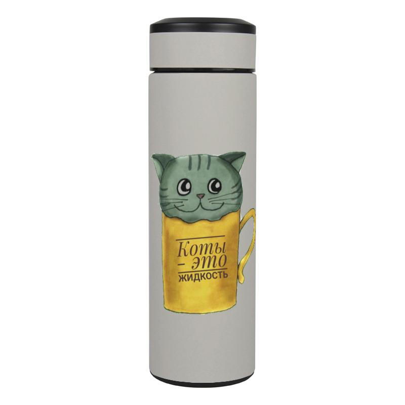 Printio Термос Коты - это жидкость