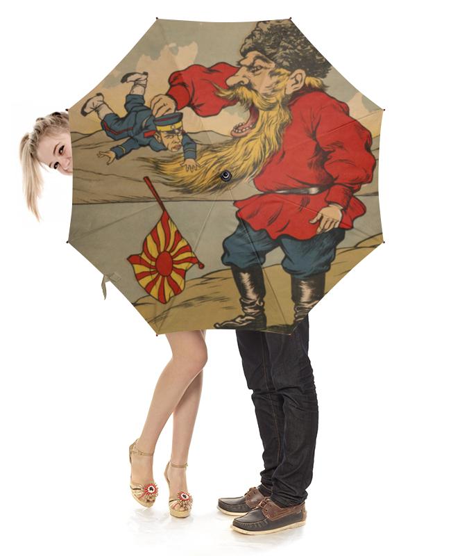 Printio Зонт-трость с деревянной ручкой Плакат