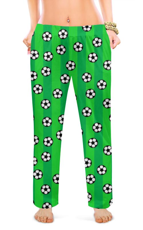 Printio Женские пижамные штаны Футбольные мячи