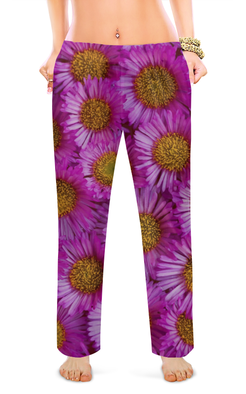 Printio Женские пижамные штаны Астры