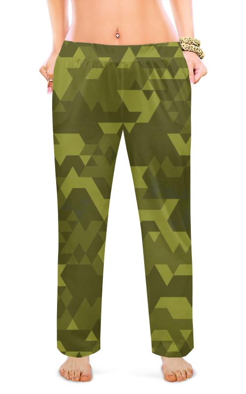 Printio Женские пижамные штаны Милитари