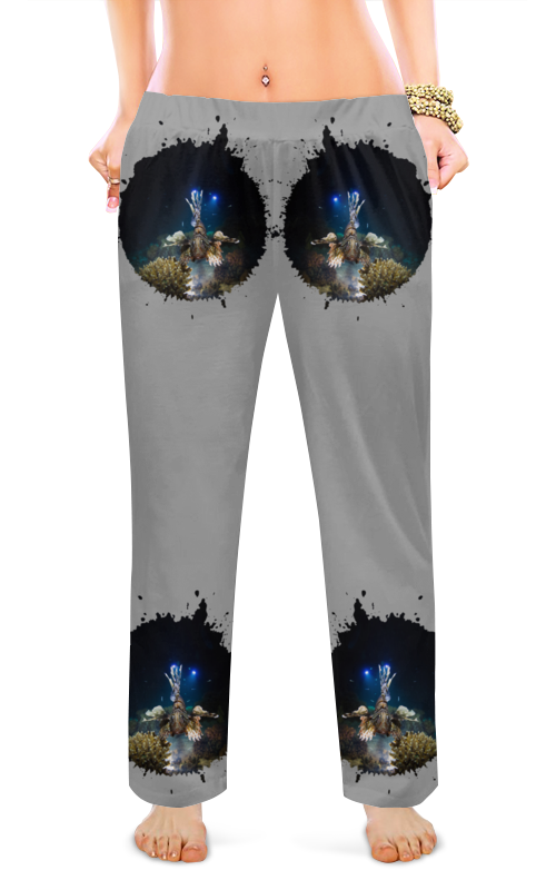 Printio Женские пижамные штаны Рыба крылатка